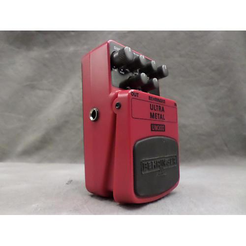 Behringer UM300 Ultra Metal Distortion Effect Pedal