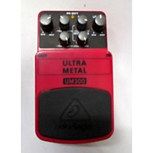 Behringer UM300 Ultra Metal Distortion Effect Pedal