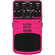 Behringer UM300 Ultra Metal Distortion Guitar Effects Pedal