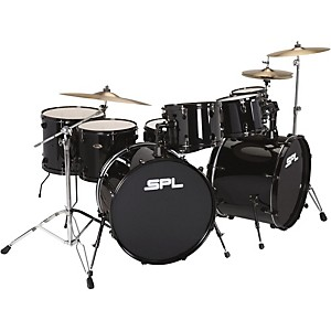 Sound Percussion Labs UNITY 8-Piece Double Bass Drum Shell Pack with PDP Ha...