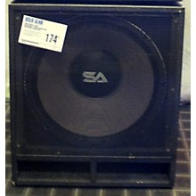 Seismic Audio UNPOWERED 18 INCH MAGMA SUB Unpowered Subwoofer