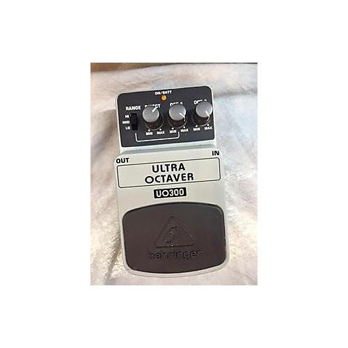Behringer UO300 Ultra Octaver Effect Pedal-thumbnail