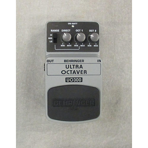 Behringer UO300 Ultra Octaver Effect Pedal-thumbnail