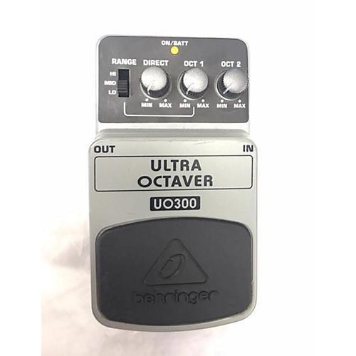 Behringer UO300 Ultra Octaver Effect Pedal