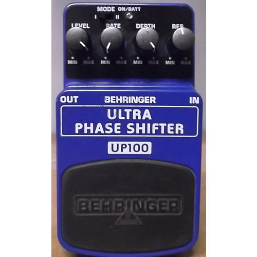 Behringer UP100 ULTRA PHASE SHIFTER Effect Pedal