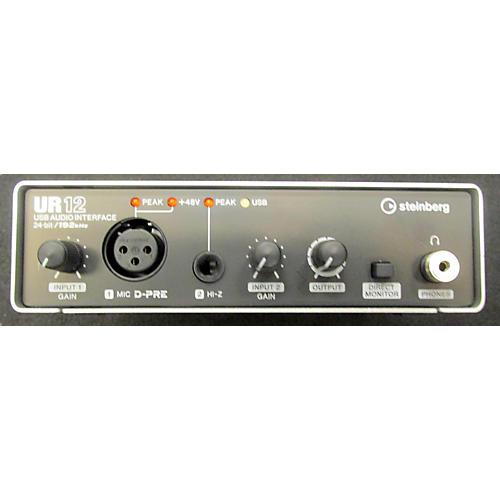 Steinberg UR 12 Audio Interface-thumbnail