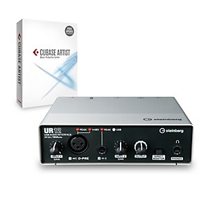 Steinberg UR12 2x2 USB 2.0 Audio Interface with Cubase Artist by Steinberg
