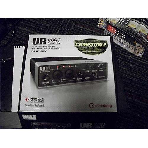 Steinberg UR22 Audio Interface-thumbnail