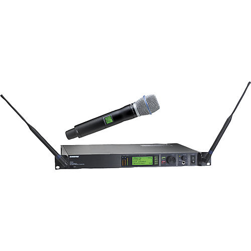 Shure UR24S/BETA87A Handheld Wireless Microphone System