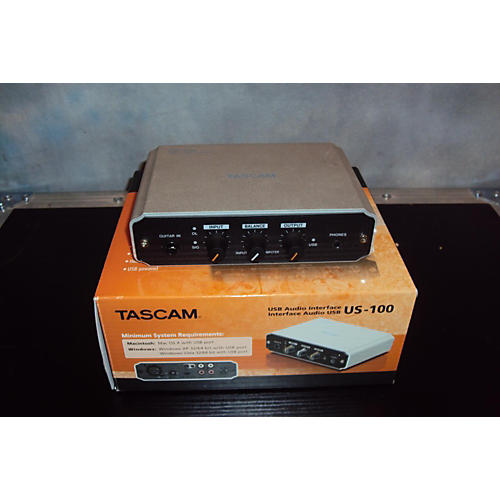 Tascam US-100 Audio Interface-thumbnail