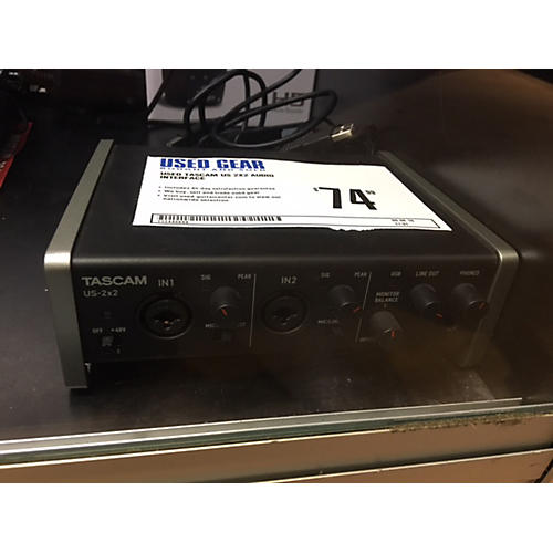Tascam US 2X2 Audio Interface-thumbnail