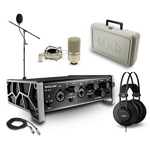 Tascam US-2x2, K52 and 990 Package-thumbnail
