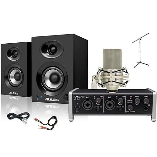 Tascam US-2x2 MXL 990 Elevate 3 Package