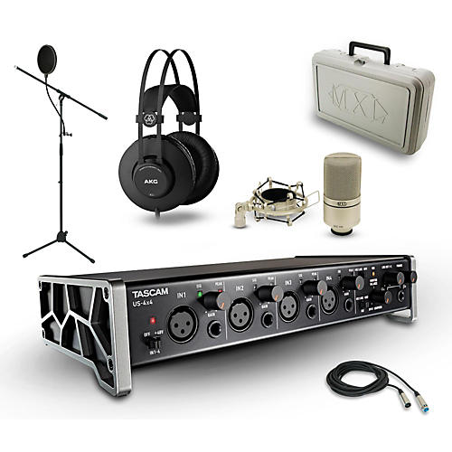 Tascam US-4X4, K52 and 990 Package-thumbnail