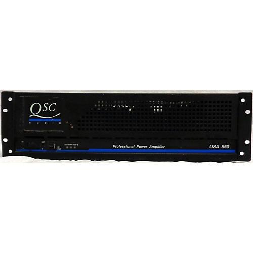 used qsc usa 850 power amp guitar center. Black Bedroom Furniture Sets. Home Design Ideas