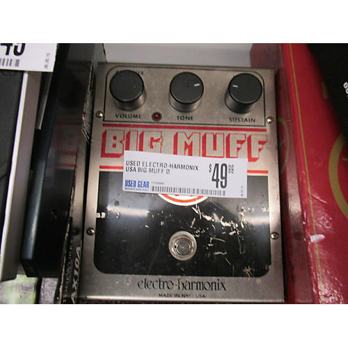 Electro-Harmonix USA Big Muff Distortion Effect Pedal-thumbnail