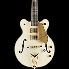 Gretsch Guitars USA Custom Shop Tom Petersson Signature 12-String Falcon Electric Bass Guitar Vintage White