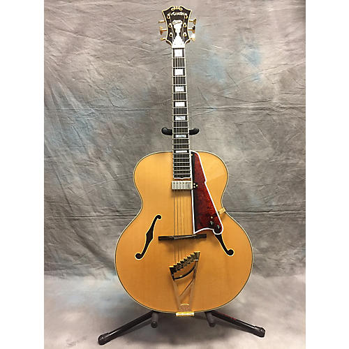 D'Angelico USA Master Built 1942 Hollow Body Electric Guitar-thumbnail