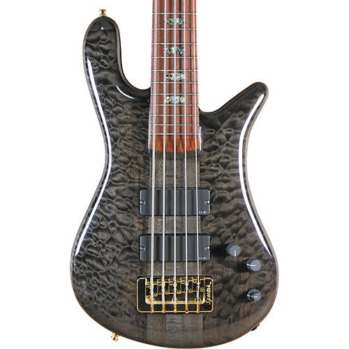 Spector USA NS-5XL Black Stain 5-String Bass Guitar