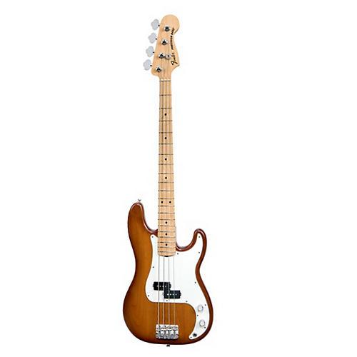 Fender USA Nitro Satin Series Precision Bass Honeyburst Maple Fingerboard
