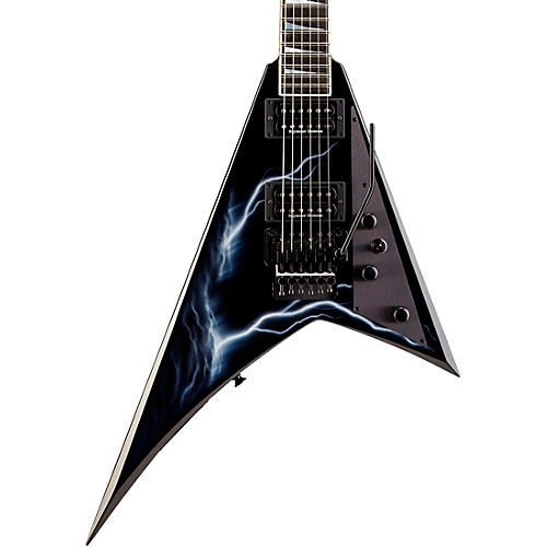 Jackson USA RR1 Randy Rhoads Select Series Electric Guitar Lightning Sky