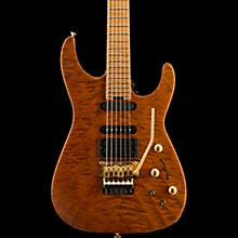 USA Signature Phil Collen PC1 Satin Satin Transparent Amber