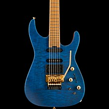 Jackson USA Signature Phil Collen PC1 Satin Satin Transparent Blue