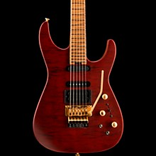 USA Signature Phil Collen PC1 Satin Satin Transparent Red