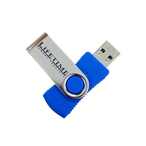 Lifetime Memory Products USB 2.0 QuickStick Swivel Flash Drive