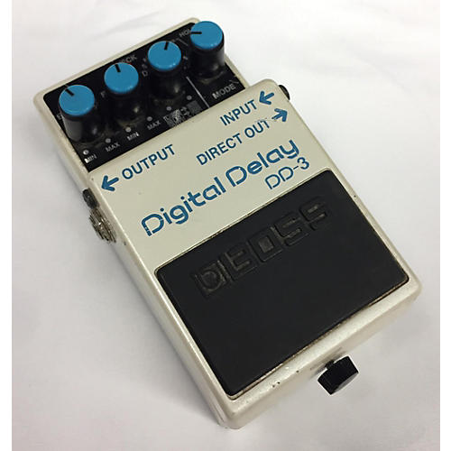 In Store Used USED BOSS DD3 DIGITAL DELAY EFFECT PEDAL
