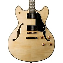 USM-HB35 Hollowbody Dual Humbucker Electric Guitar Natural