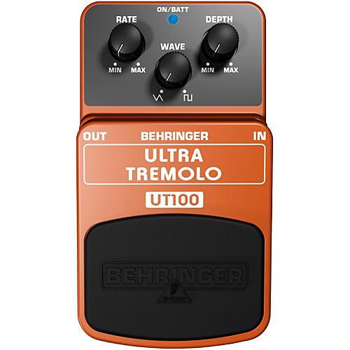 Behringer UT 100 Ultra Tremolo Guitar Effects Pedal