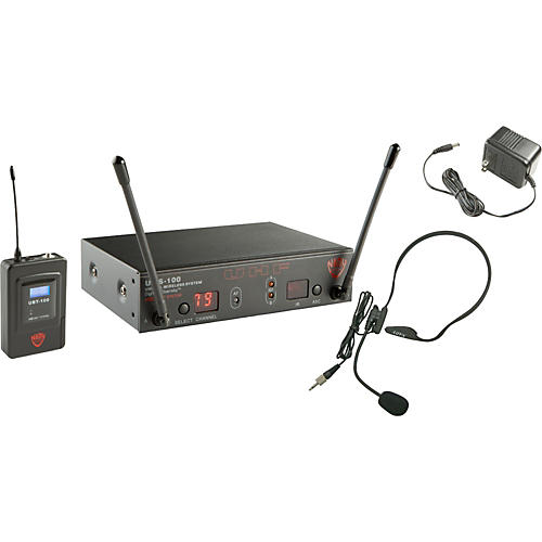 Nady UWS-100 HM-3 Headset Wireless System-thumbnail
