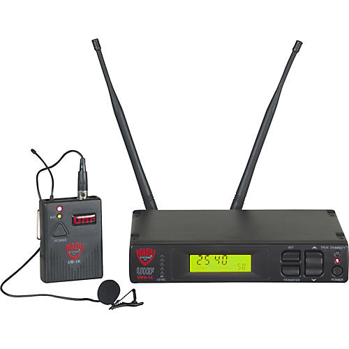 Nady UWS-1K Wireless Lavalier Microphone System-thumbnail
