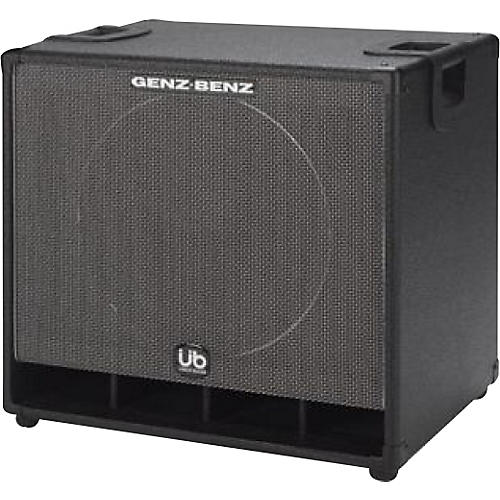 Genz Benz Uber Bass GB115T-UB 1x15 Bass Speaker Cabinet Black