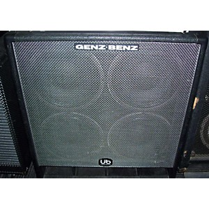 Pre-owned Genz Benz Uber GB410T 4Ohm 4x10 Bass Cabinet by Genz Benz