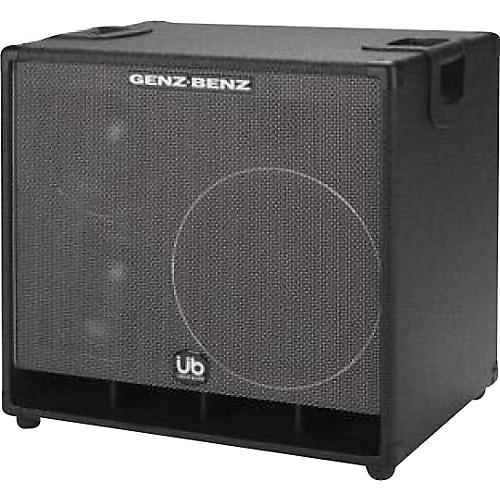Genz Benz Uber Quad GB1288T-UQ 1x12 and 2x8 Bass Speaker Cabinet Black