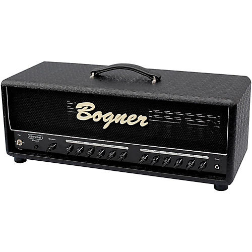 Bogner Uberschall 100W 6L6 Tube Guitar Amp Head Comet Black-thumbnail