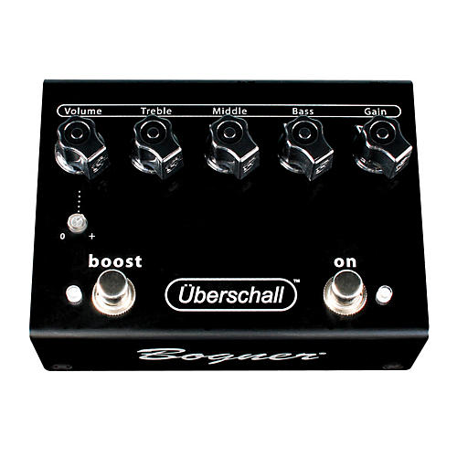 Bogner Uberschall Distortion/Boost Guitar Effects Pedal