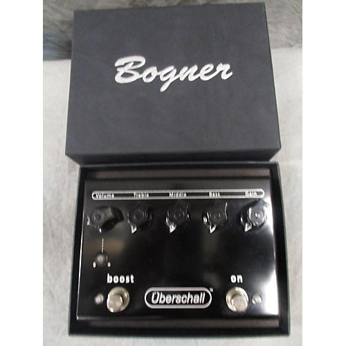 Bogner Uberschall Distortion Effect Pedal-thumbnail
