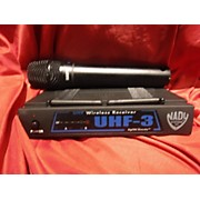 Nady Uhf3 Handheld Wireless System