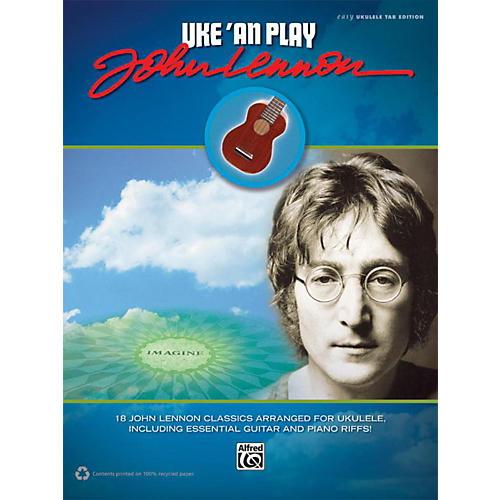 Alfred Uke 'An Play John Lennon Easy Ukulele TAB Book-thumbnail