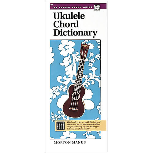 Alfred Ukulele Chord Dictionary