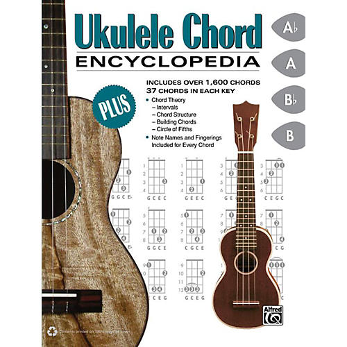 Alfred Ukulele Chord Encyclopedia - Book-thumbnail