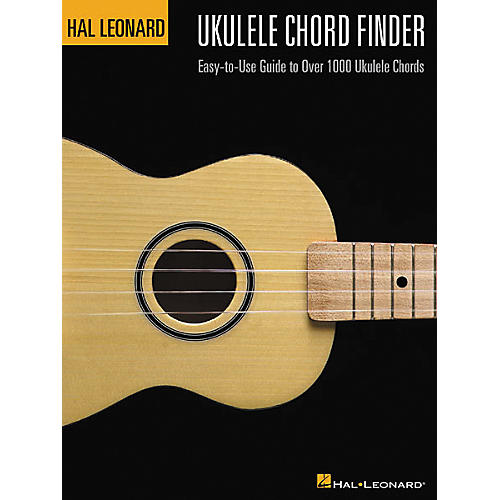 Hal Leonard Ukulele Chord Finder Book-thumbnail