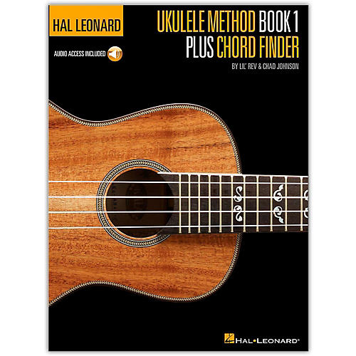 Hal Leonard Ukulele Method Book 1 Plus Chord Finder (Book/Online Audio)-thumbnail