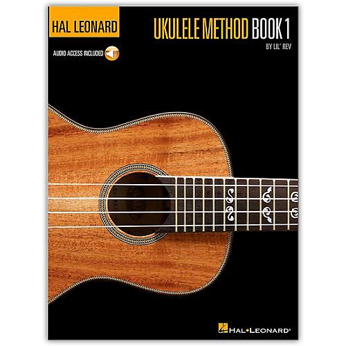 Hal Leonard Ukulele Method Book 1 with CD