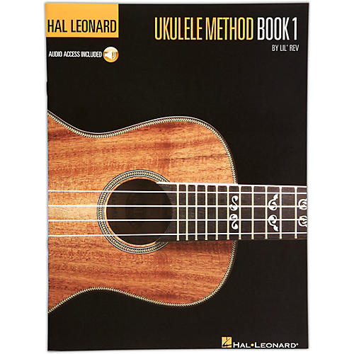 Hal Leonard Ukulele Method Book 1 with Online Audio-thumbnail