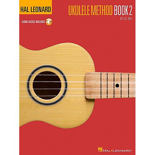 Hal Leonard Ukulele Method Book 2 with CD