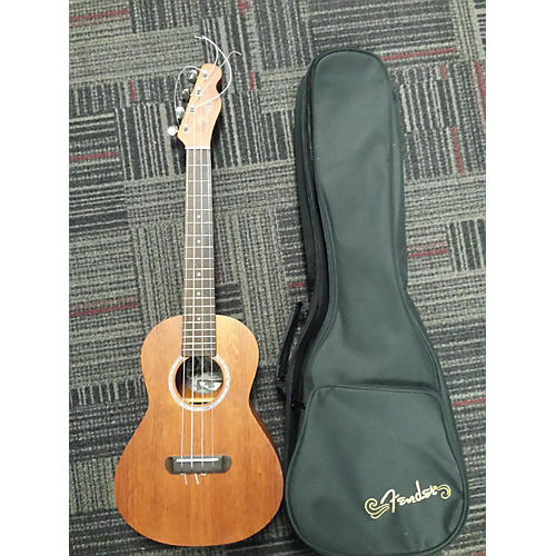 Fender Ukulele Pa'ina All-Solid Mahogany Acoustic-Electric Tenor